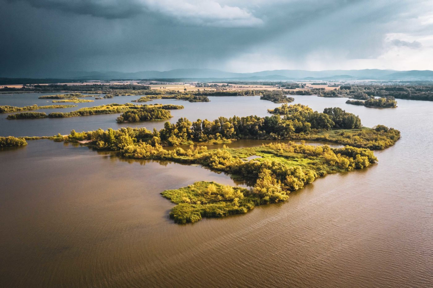 jezioro Nyskie, mořské kajaky, Polsko